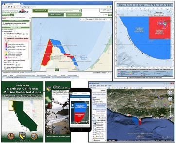 CDFW maps, guidebooks, brochures, and web applications