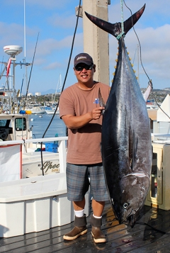 Mark Mayeda and record bluefin tuna