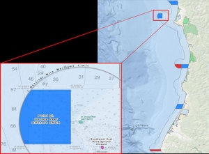 Point St. George Reef SMCA map by CDFW Marine Region GIS Lab