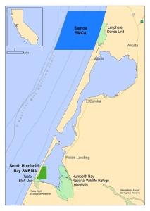 map of humboldt bay