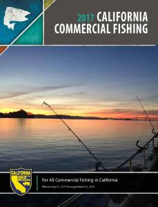 California commercial fishing digest now available online for California fishing limits