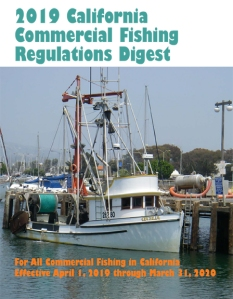 Commercial Fishing Regulations Digest cover