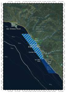 Map of Cambria State Marine Conservation Area/State Marine Park