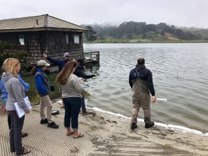 Sonoma Collab mini ROV training
