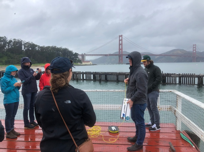Golden Gate MPA Collaborative ROV training