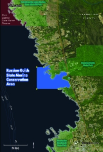 Russian Gulch SMCA map