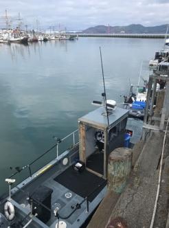 fishing boats at San Francisco